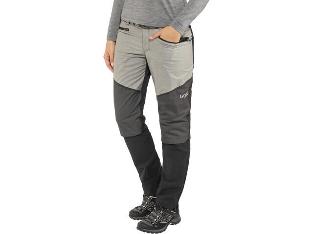 GORE WEAR H5 Women Gore Windstopper Hybrid Pants Dame black/terra grey